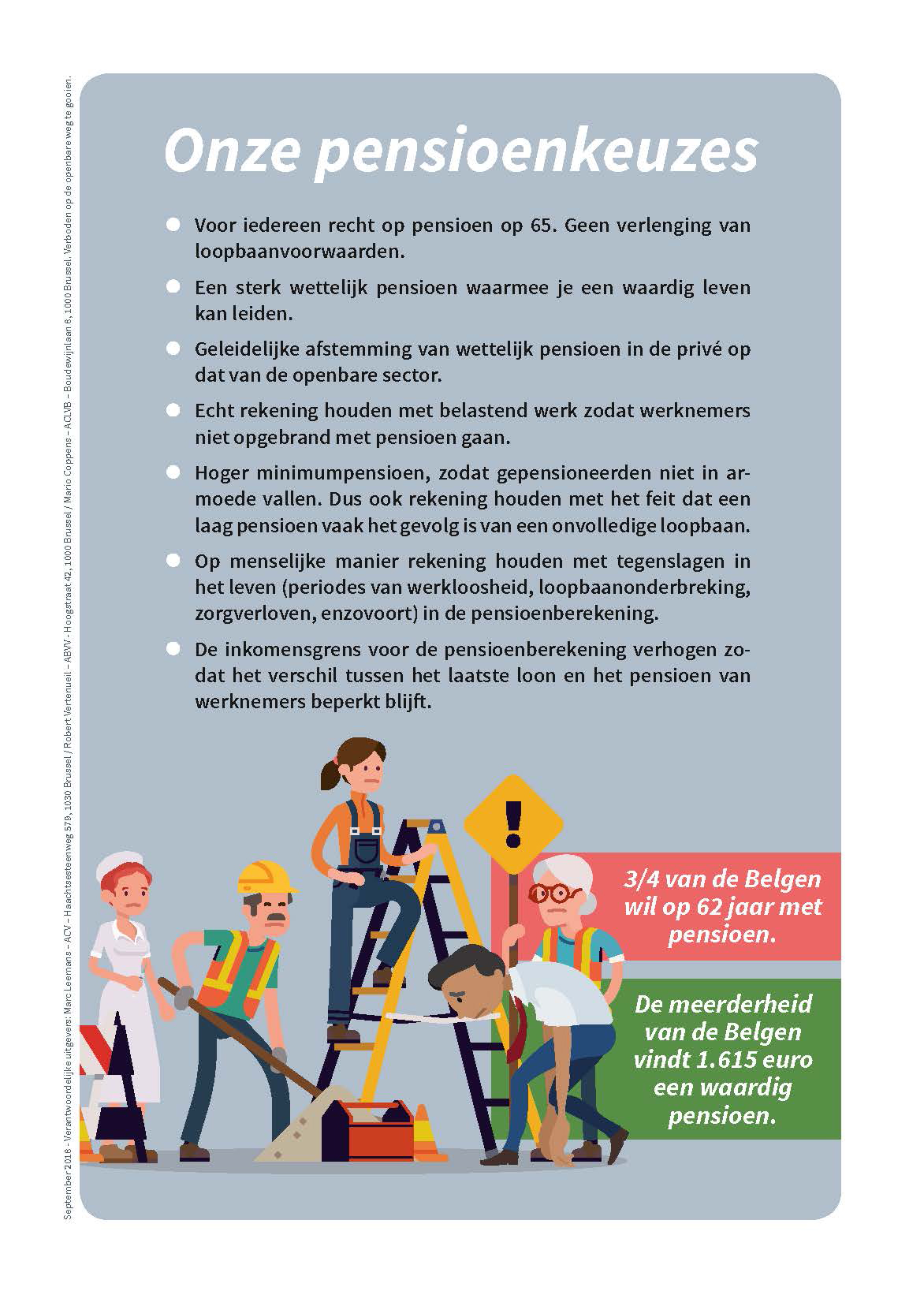 flyer pensioenbetoging